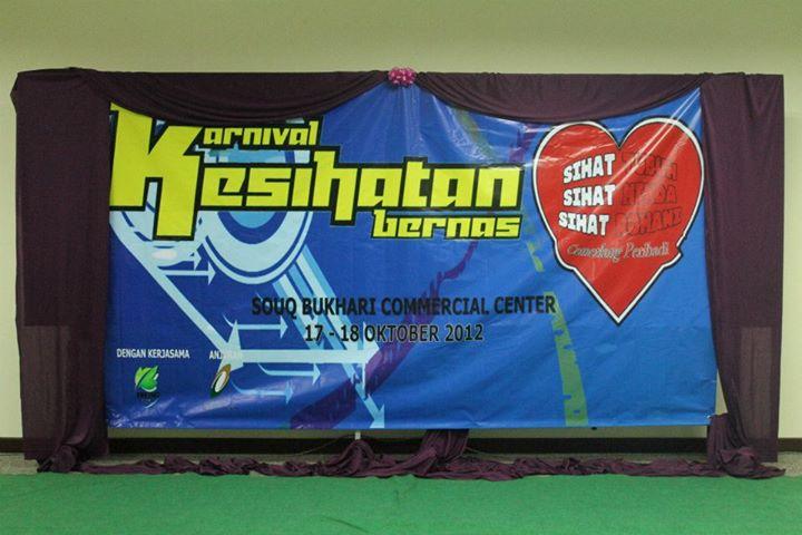 KARNIVAL BERNAS TENTANG KESIHATAN 2012